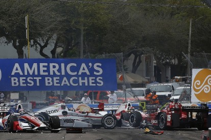 Rahal slams 'brain-dead' Munoz for St Petersburg IndyCar pile-up