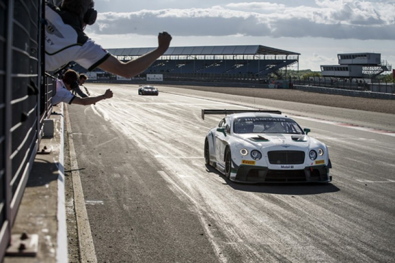 Silverstone Blancpain: Bentley GT3 claims first victory