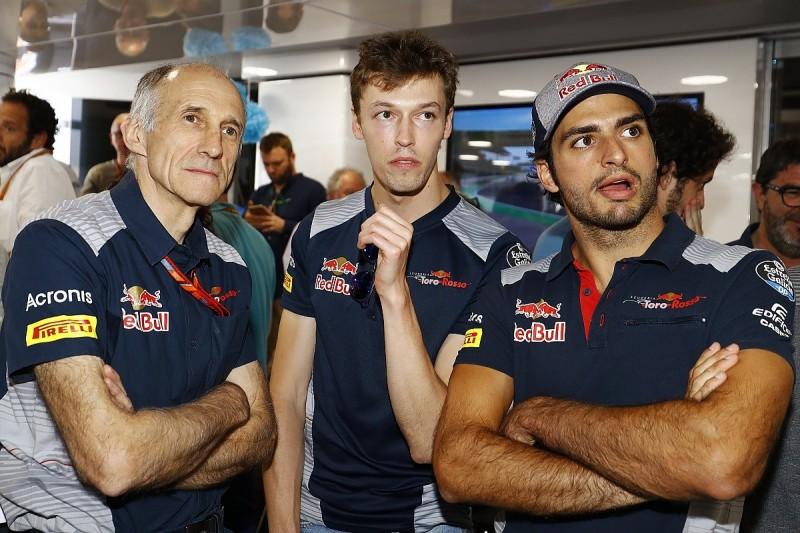 Carlos Sainz Jr sorry to see Daniil Kvyat dropped by Red Bull in F1