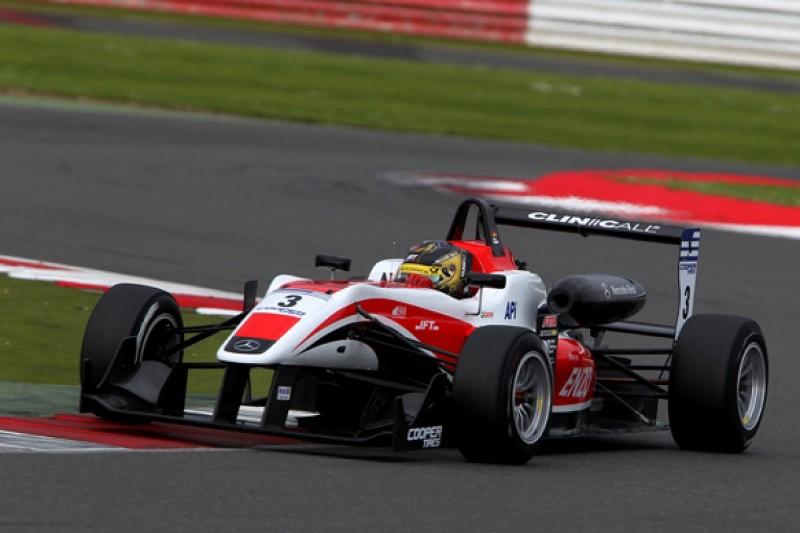 Silverstone British F3: Kirchhofer wins drama-filled encounter
