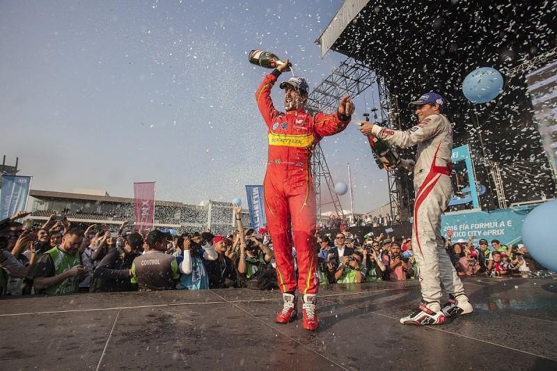 Mexico City Formula E: Di Grassi excluded, d'Ambrosio takes win