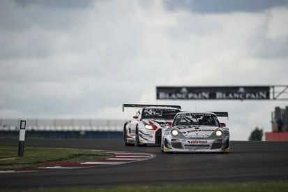 Silverstone Blancpain: Franck Perera puts Almeras Porsche on pole
