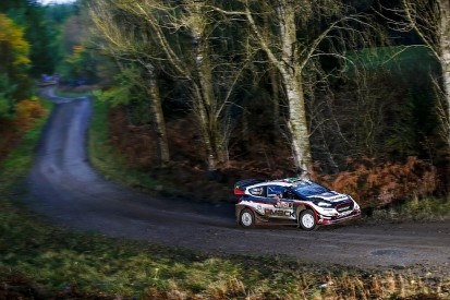Rally GB: Elfyn Evans extends his lead as M-Sport holds 1-2-3