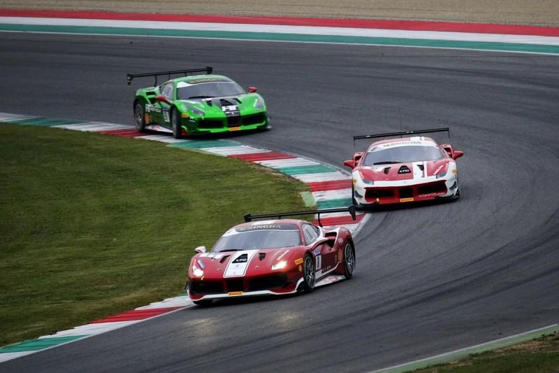 Ferrari Challenge Mugello: Nielsen beats GP2 champion Leimer to win
