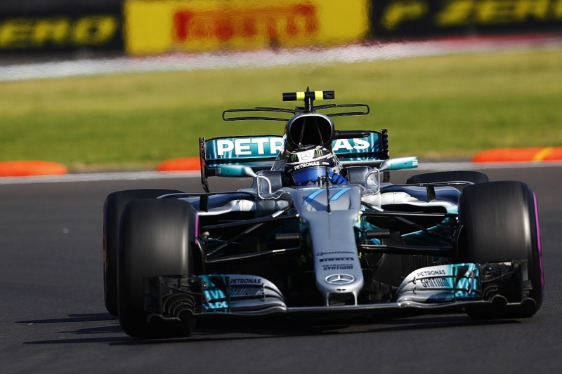Mexican GP FP1: Valtteri Bottas leads Lewis Hamilton in Mercedes 1-2