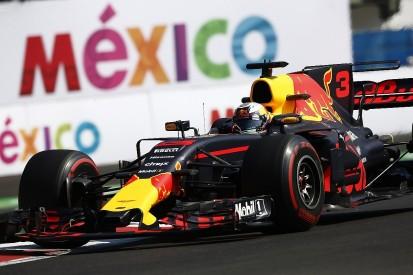 Mexican GP FP2: Daniel Ricciardo fastest for Red Bull