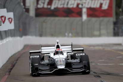 Manor F1 reserve Rossi getting acclimatised during IndyCar debut