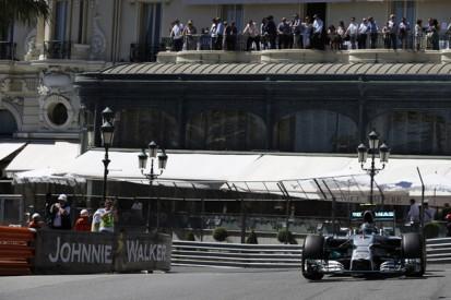 Monaco GP: Nico Rosberg beats Lewis Hamilton to pole despite error