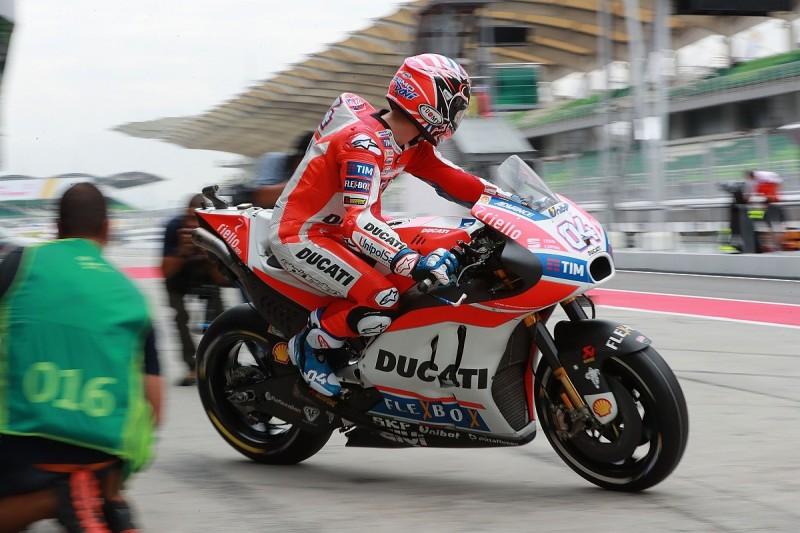 Andrea Dovizioso says speed in MotoGP practice came 'quite easy'