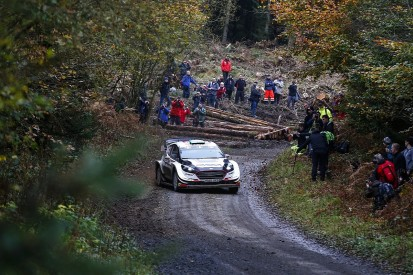 Elfyn Evans claims Rally GB lead to emulate Colin McRae's 2001 feat