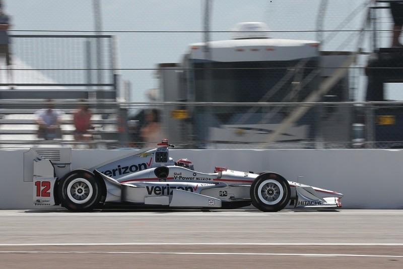 St Petersburg IndyCar: Will Power fastest again in third practice
