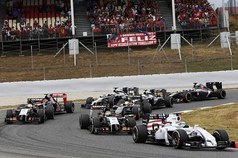 Felipe Massa calls for Formula 1 to study grip levels
