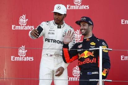 Lewis Hamilton would welcome Daniel Ricciardo as an F1 team-mate