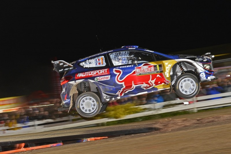 Sebastien Ogier claims Rally GB lead with superspecial stage win