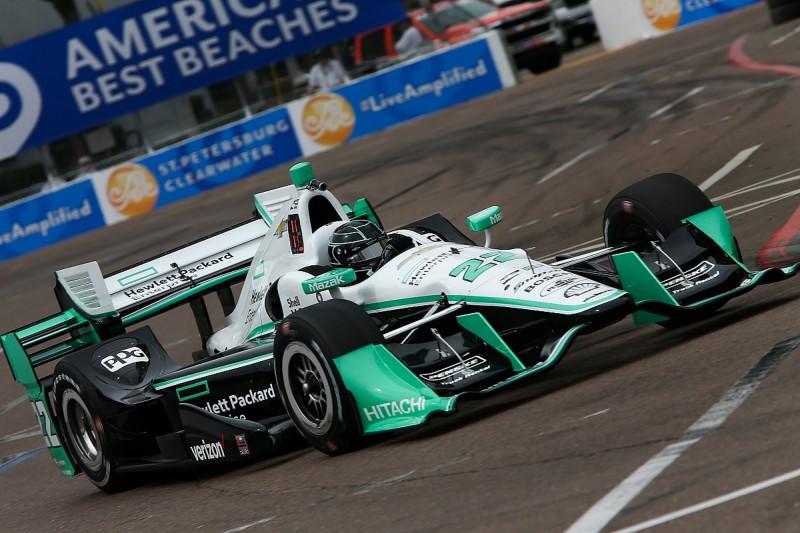 St Petersburg IndyCar: Penske's Simon Pagenaud tops first practice