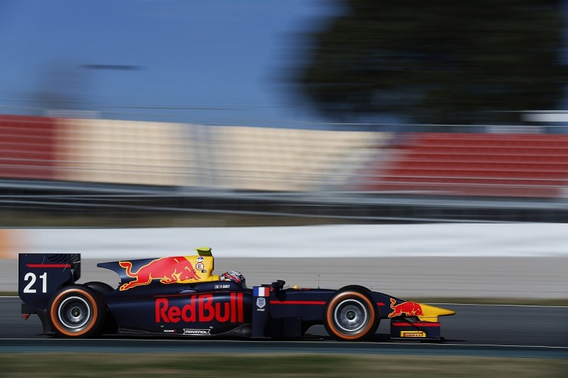 Red Bull junior Pierre Gasly tops day two of GP2 Barcelona testing