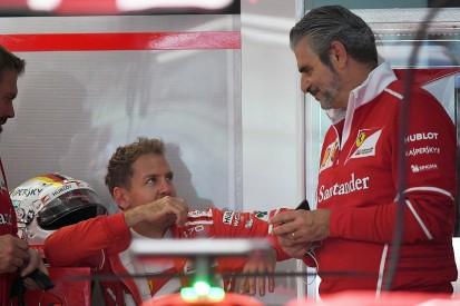 Vettel: Key man Arrivabene must stay at Ferrari Formula 1 team