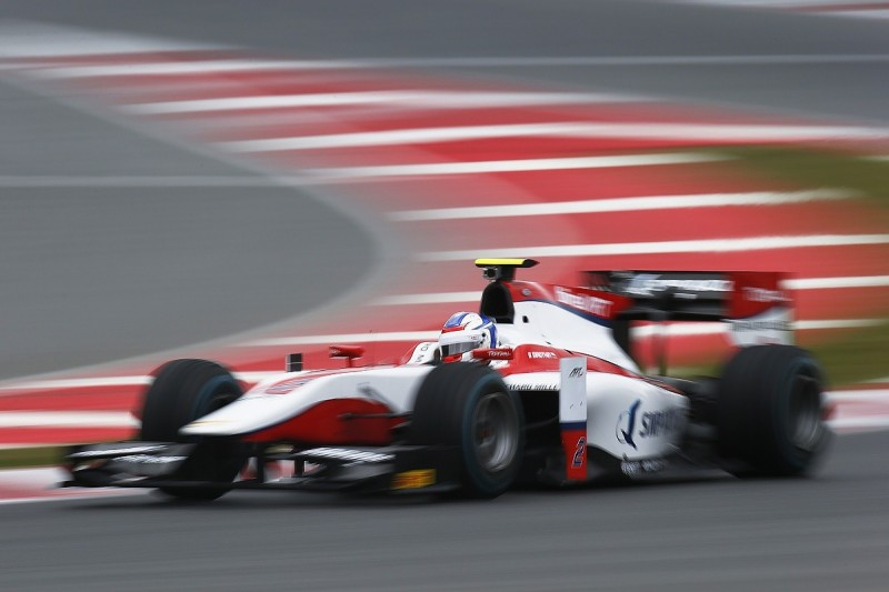 Barcelona GP2 test: Sirotkin leads Gasly and Lynn on first day
