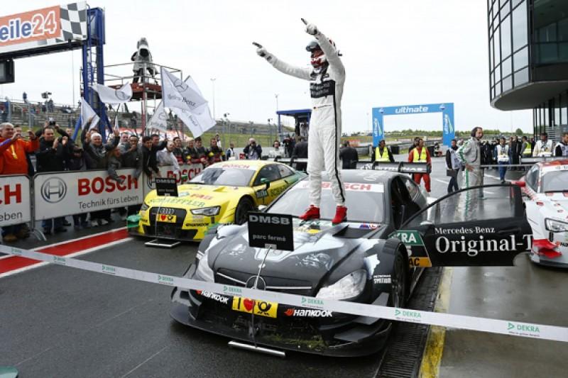 Mercedes: Christian Vietoris' DTM win doesn't mean problems solved