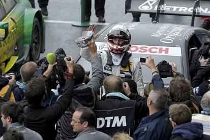 Oschersleben DTM: Christian Vietoris gives Mercedes shock wet win