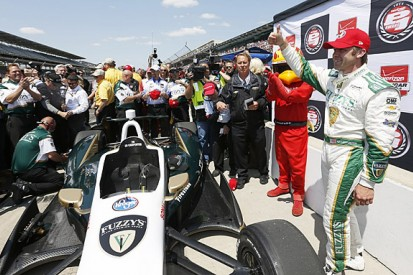 Indy 500 qualifying: Ed Carpenter takes pole position