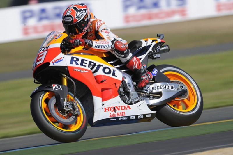Le Mans MotoGP: Marc Marquez untouchable in qualifying
