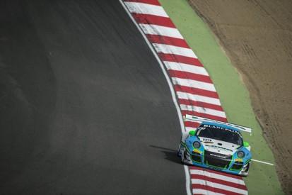 Brands Hatch Blancpain: Crash rules Nick Tandy's Porsche 911 out