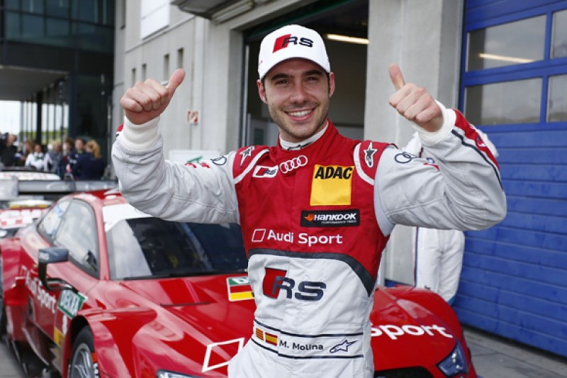 Oschersleben DTM: Miguel Molina takes pole for Audi