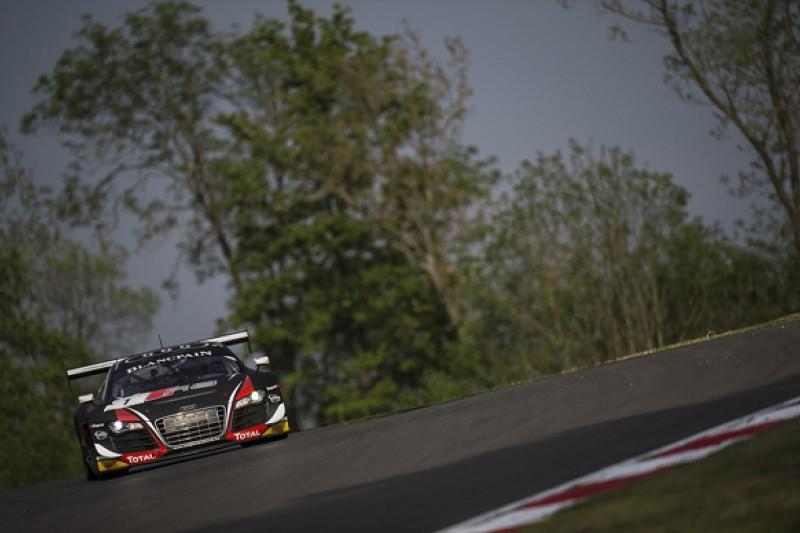 Brands Hatch Blancpain: Laurens Vanthoor puts WRT Audi on pole