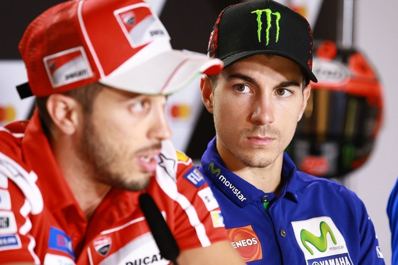 Vinales switches focus to beating Dovizioso to MotoGP runner-up spot