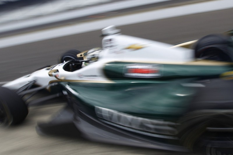 Indianapolis 500: Ed Carpenter flies on rain-affected 'Fast Friday'