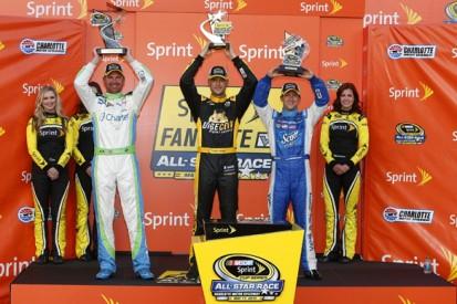 NASCAR All-Star: Clint Bowyer leads AJ Allmendinger in Showdown