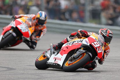 MotoGP champion Marc Marquez doesn't mind who his team-mate is