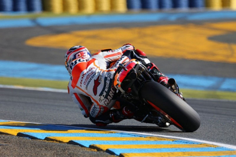 Le Mans MotoGP: Marc Marquez leads the way in first practice