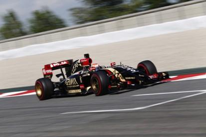 Barcelona F1 test: Pastor Maldonado fastest for Lotus