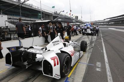 Indianapolis 500: Simon Pagenaud fastest as rain limits running