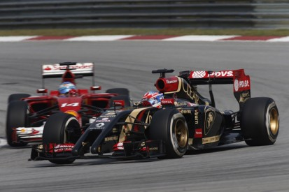 Lotus sets target of beating Ferrari in 2014 Formula 1 standings