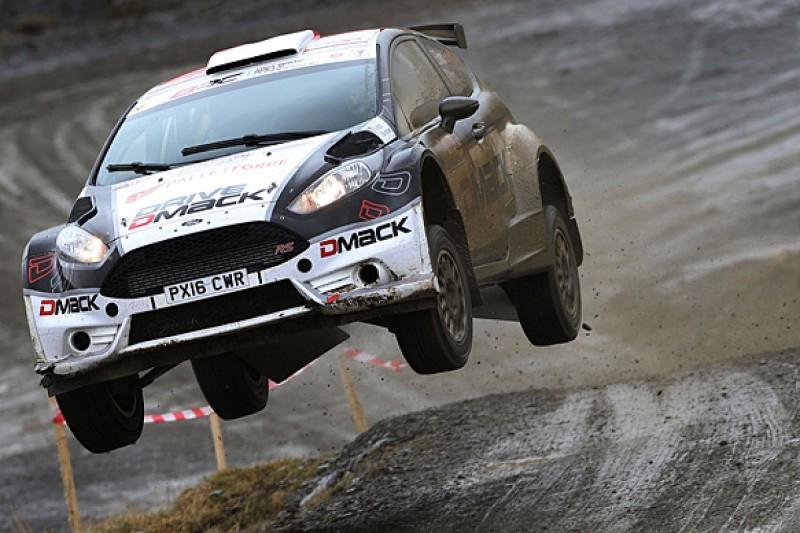 Elfyn Evans takes narrow win as British Rally Championship returns
