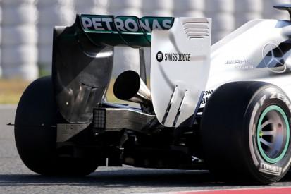 Mercedes begins test of new louder Formula 1 exhaust