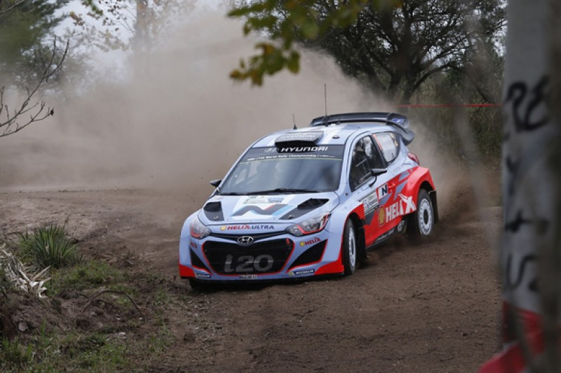 Thierry Neuville says Hyundai's i20 WRC now proving its pace