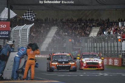 V8 Supercars Clipsal 500: Shock Percat win in wild Adelaide finale