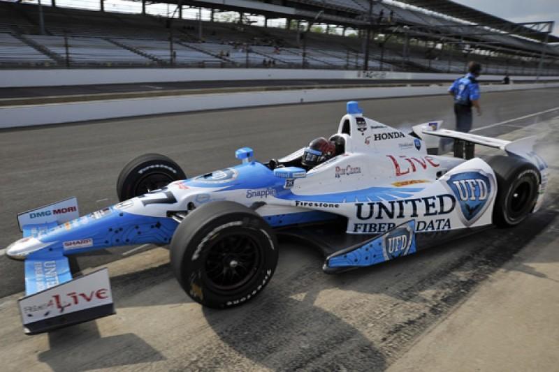 Indianapolis 500: EJ Viso fastest on day three