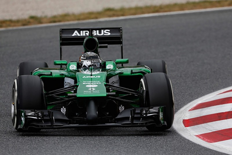Caterham pulls out of Barcelona F1 test due to chassis damage