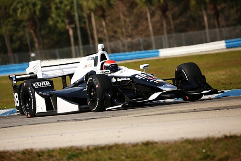 Alexander Rossi 'on the pace' in IndyCar test debut with Andretti