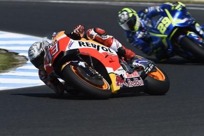 MotoGP Phillip Island: Win for Marquez as rival Dovizioso is 13th