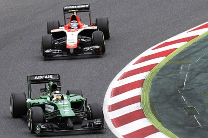 "Kamui Kobayashi calls for ""more courage"" from Caterham F1 team"