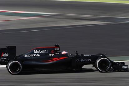 McLaren's full 2016 F1 spec won't run until Australian Grand Prix