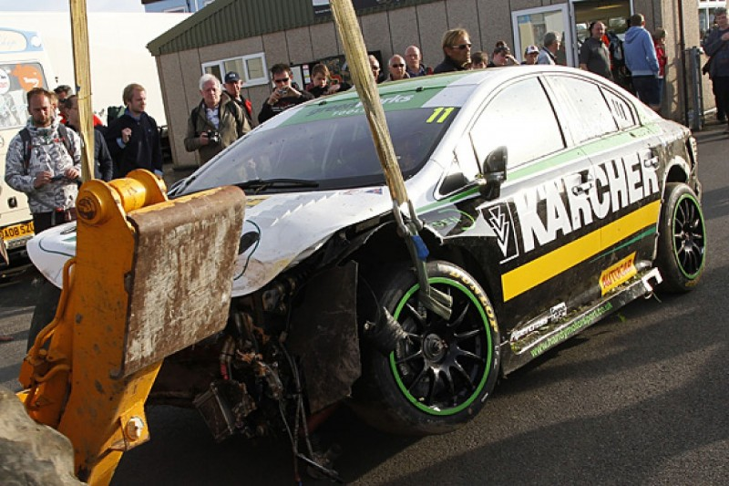 BTCC drivers call for changes at Thruxton after crashes