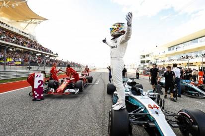 Lewis Hamilton beats Sebastian Vettel to United States GP F1 pole