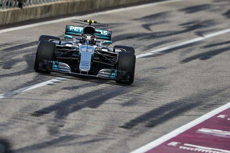 Mercedes' Bottas explains 'big' US GP qualifying gap to Hamilton